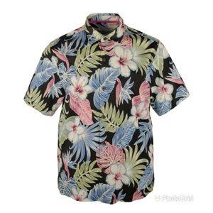 Tommy Bahama Men's Konkan Jungle Camp Shirt